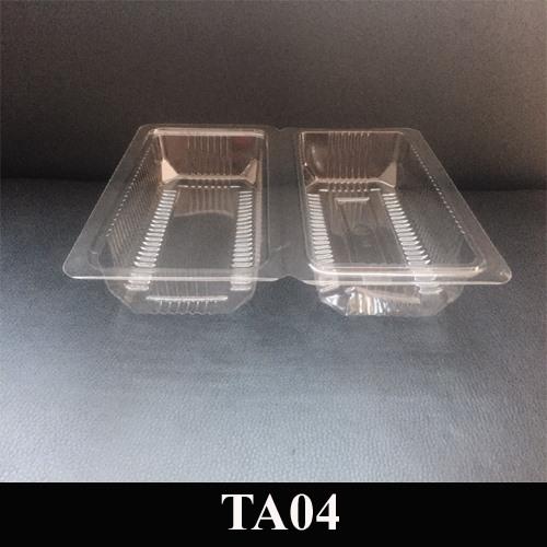 Hộp nhựa dùng 1 lần TA04(H04)